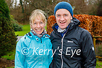 Enjoying a stroll in the Killarney National park on Friday, l to r: Phil O'Shea and Sean Cronin