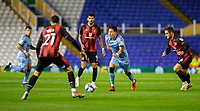 2nd October 2020; St Andrews Stadium, Coventry, West Midlands, England; English Football League Championship Football, Coventry City v AFC Bournemouth; Callum OHare of Coventry City weaving his way through Bournemouth players with the ball at his feet