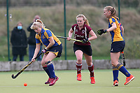 Upminster HC Ladies vs Wapping HC Ladies 2nd XI, East Region League Field Hockey at the Coopers Company and Coborn School on 10th October 2020