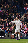 Cristiano Ronaldo of Real Madrid celebrates during their La Liga match between Atletico de Madrid and Real Madrid at the Vicente Calderón Stadium on 19 November 2016 in Madrid, Spain. Photo by Diego Gonzalez Souto / Power Sport Images
