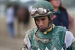 September 20, 2014:  Scenes from Pennsylvania Derby Day at Parx Racing in Bensalem, PA: Paco Lopez. Joan Fairman Kanes/ESW/CSM