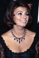 Sophia Loren, circa 1966.