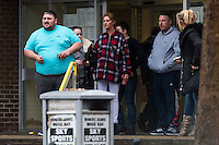 COPY BY TOM BEDFORD<br /> Pictured: Martin Gilheaney (L, blue tshirt) and Peter Patrick Gilheaney (R, grey hooded top).<br /> <br /> Re: Ten men on trial at Merthyr Crown Court are facing jail for turning a travellers camp built with a £3m grant from the Welsh Government into a giant cannabis plantation.<br /> Half of the 24 caravans at their newly-renovated gypsy camp in Merthyr Tydfil were used as cover for a sophisticated drugs-growing operation worth up to £340,000 a year, a court heard.<br /> Their Glynmill Gypsy and Traveller Site had been given a £3m grant of public money for improvements including community hall, toilet blocks and landscaping.<br /> Andrew Jakes, 36, Adam Jones, 23, Barry Jones, 34, Brinnie Mochan, 18, Peter Gilheaney, 18, Steven Francis Gilheaney, 33, Martin Gilheaney, 27, and Peter Patrick Gilheaney, 27, all of Glynmill Caravan Site, admitted conspiracy to produce cannabis and cannabis production.<br /> Another two – Edward Probert, 27, of Pontypool, and William Henry Williams, 20, of Merthyr Tydfil – also pleaded guilty to the same charges.