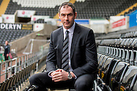 Thursday  05 January 2017<br /> Pictured: Swansea City Head Coach, Paul Clement <br /> Re: Paul Clement's first press conference as Swansea City Head Coach