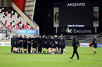 26 February 2021; Osprey players arriving for the Guinness PRO14 match between Ulster and Ospreys at Kingspan Stadium in Belfast. Photo by John Dickson/Dicksondigital