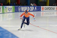 SPEEDSKATING: 23-11-2019 Tomaszów Mazowiecki (POL), ISU World Cup Arena Lodowa, 500m Ladies Division B, Dione Voskamp (NED), ©photo Martin de Jong
