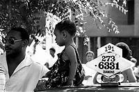 Manifestation chauffeurs de taxi haitiens<br /> , le 30 juin 1984<br /> PHOTO :  : Agence Quebec Presse