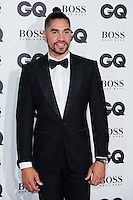 Louis Smith arrives for the GQ Men Of The Year Awards 2016 at the Tate Modern, London