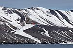 Helicoptor, Decption Island, Antarctica