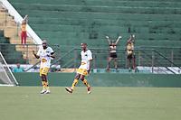 Campinas (SP), 15/02/2020 - Guarani - Novorizontino - Jogadores comemoram gol do Novorizontino. Partida entre Guarani e Novorizontino válida pela sexta rodada do Campeonato Paulista no estádio Brinco de Ouro, em Campinas, interior de São Paulo, neste sábado (15).