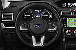 Car pictures of steering wheel view of a 2017 Subaru Forester Premium 5 Door SUV