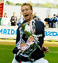 07/05/2005         Copyright Pic : James Stewart.File Name : jspa07_falkirk_v_qots.DANIEL MCBREEN CELEBRATES.Payments to :.James Stewart Photo Agency 19 Carronlea Drive, Falkirk. FK2 8DN      Vat Reg No. 607 6932 25.Office     : +44 (0)1324 570906     .Mobile   : +44 (0)7721 416997.Fax         : +44 (0)1324 570906.E-mail  :  jim@jspa.co.uk.If you require further information then contact Jim Stewart on any of the numbers above.........A