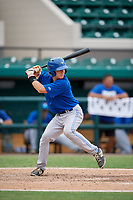 Toronto Blue Jays catcher Reilly Johnson (7) at bat during an Instructional League game against the Detroit Tigers on October 12, 2017 at Joker Marchant Stadium in Lakeland, Florida.  (Mike Janes/Four Seam Images)