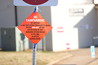 COLLEGE PARK, GA - JANUARY 5: Sign outside the College Park Library Voting Center during the Georgia Senate runoff races on January 5, 2021 in College Park, Georgia. <br /> CAP/MP34<br /> ©MPI34/Capital Pictures