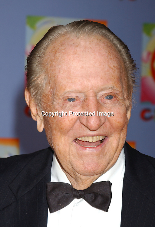 ..Art LInkletter..at CBS's 75th Anniversary at The Hammerstein Ballroom in ..New York City on November 2, 2003. Photo by Robin Platzer, Twin Images
