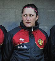 Qualification Women's Euro 2013 - Belgium - Iceland ; Belgie - Ijsland ; Armand Melis Stadion Dessel :.Laurence Marchal.foto DAVID CATRY / Vrouwenteam.be