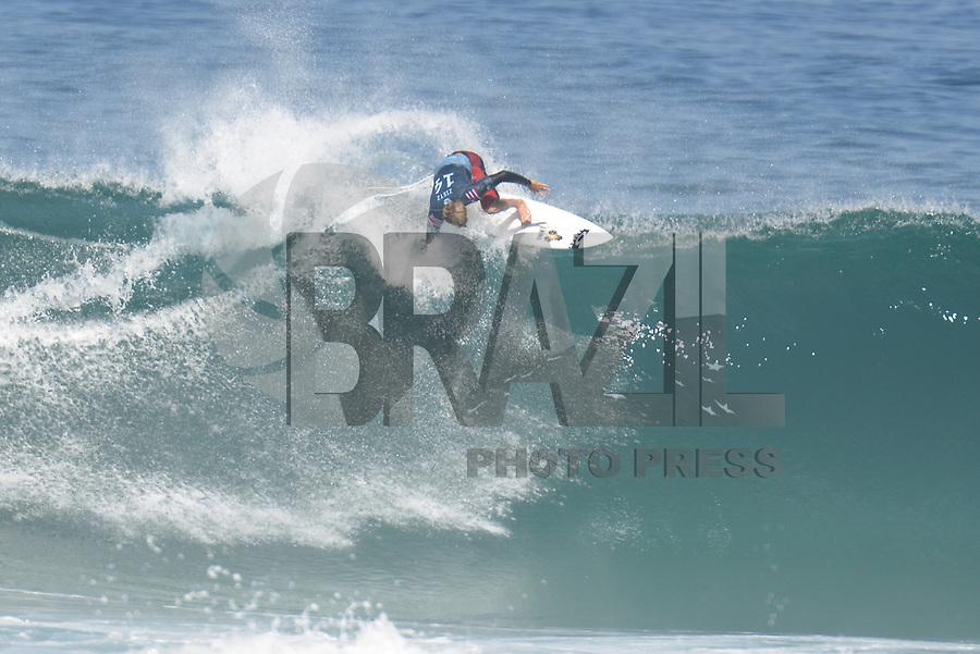 SAQUAREMA, RJ, 16.05.2018 - WSL-RJ - Sebastian Zeitz, no Oi Rio Pro etapa da WSL na Praia de Itaúna, Saquarema, Rio de Janeiro nesta quarta-feira, 16.(Foto: Clever Felix/Brazil Photo Press)