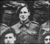 BNPS.co.uk (01202 558833)<br /> Pic: ParaData/BNPS<br /> <br /> Trooper William Edmund.<br /> <br /> As the 75th anniversary of Operation Market Garden begins tomorrow, one of the original 'flower girl''s of Arnhem is still remembering...<br /> <br /> A heartwarming tale of dedication and rememberance has been revealed over a remarkable Dutch pensioner who still tends the grave of a fallen British Arnhem hero, 75 years after he perished in battle.<br /> <br /> Every year, Willemien Rieken (84) still lays flowers at Oosterbeek War Cemetery in memory of Trooper William Edmond, who was shot by a German sniper in the early stages of Operation Market Garden in 1944.<br /> <br /> Trp Edmond, of the elite 1st Airborne Reconnaissance Squadron's final words, uttered to two comrades who came to his aid, were 'tell my wife I love her'.<br /> <br /> Willemien was just nine years old when Oosterbeek became a bloody battleground in September 1944. The retired director's secretary, now aged 84, hid in a small cellar underneath her father's confectionary shop for five days while fierce fighting raged around their house and garden.<br /> <br /> Twenty-five of her family, friends and neighbours packed into the confined space and cowered in fear in the deafening din of shooting and explosions.<br /> <br /> After the war the grateful citizens of Arnhem arranged a poignant ceremony involving a nine year old Willimein and other school children from the town, to lay flowers at the graves of the British soldiers killed in the battle. <br /> <br /> And the dedicated pensioner is now one of the last survivors to still undertake the task.