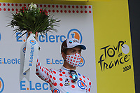 12th September 2020; Lyon, France;  TOUR DE FRANCE 2020- UCI Cycling World Tour during covid-19 pandemic. Stage 14 from Clermont-Ferrand to Lyon on the 12th of September. Benoit Cosnefroy France Ag R La Mondiale