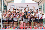 JLL team are the Cup Runners up of the Swire Touch Tournament on 03 September 2016 in King's Park Sports Ground, Hong Kong, China. Photo by Marcio Machado / Power Sport Images