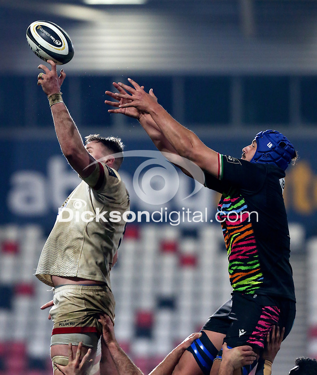 19th March 2021;   Kieran Treadwell during the final round of the Guinness PRO14 against Zebre Rugby held at Kingspan Stadium, Ravenhill Park, Belfast, Northern Ireland. Photo by John Dickson/Dicksondigital