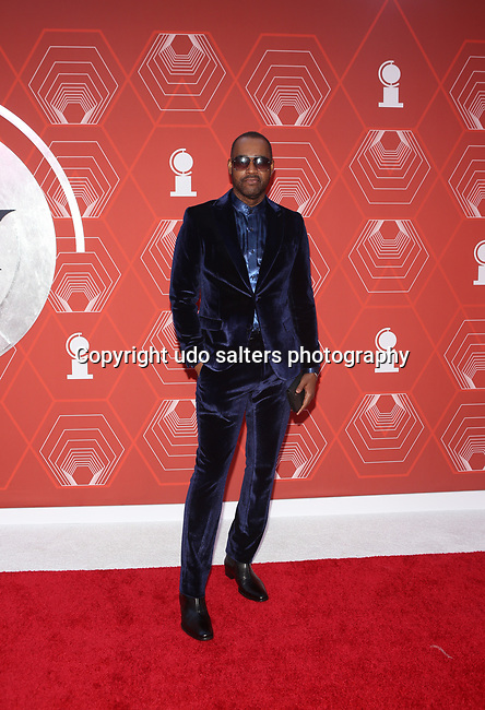 Emilio Sosa attends the 74th Tony Awards-Broadway's Back! arrivals at the Winter Garden Theatre in New York, NY, on September 26, 2021. (Photo by Udo Salters/Sipa USA)