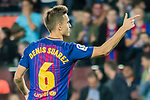 Denis Suarez Fernandez of FC Barcelona celebrates after scoring his goal during the La Liga 2017-18 match between FC Barcelona and SD Eibar at Camp Nou on 19 September 2017 in Barcelona, Spain. Photo by Vicens Gimenez / Power Sport Images