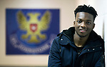 Matty Willock pictured at McDiarmid Park this afternoon after joining St Johnstone on loan from Manchester United….31.01.18<br />see story by Gordon Bannerman 07729 865788<br />Picture by Graeme Hart.<br />Copyright Perthshire Picture Agency<br />Tel: 01738 623350  Mobile: 07990 594431