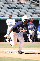 Josh Hart, #16 of Park View High School, Georgia playing for East Cobb Baseball during the WWBA World Champsionship 2012 at the Roger Dean Complex on October 29, 2012 in Jupiter, Florida. (Stacy Jo Grant/Four Seam Images)