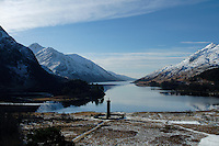 The Glenfinnan Monument and Loch Shiel, Glenfinnan, Lochaber<br /> <br /> Copyright www.scottishhorizons.co.uk/Keith Fergus 2011 All Rights Reserved
