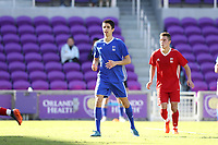 Orlando, Florida - Monday January 15, 2018: Joao Moutinho. Match Day 2 of the 2018 adidas MLS Player Combine was held Orlando City Stadium.