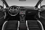 Stock photo of straight dashboard view of 2016 Ds DS-4-Crossback Sport-Chic 5 Door Hatchback Dashboard