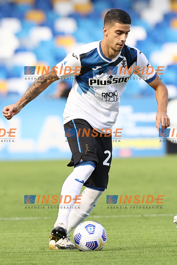Fabio Depaoli of Atalanta BC<br /> during the Serie A football match between SSC Napoli and Atalanta BC at stadio San Paolo in Napoli (Italy), October 17th, 2020. <br /> Photo Cesare Purini / Insidefoto
