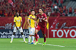 Shanghai FC Midfielder Akhmedov Odil celebrating his score during the AFC Champions League 2017 Round of 16 match between Shanghai SIPG FC (CHN) vs Jiangsu FC (CHN) at the Shanghai Stadium on 24 May 2017 in Shanghai, China. Photo by Marcio Rodrigo Machado / Power Sport Images