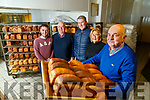Larkins Bakery, Milltown is closing down after 160 years, from left: James McCarthy, Michael McCarthy Larkin, Helen McCarthy Tomas Barry and Gerard McCarthy.