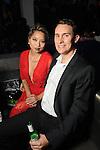 Caroline Hunyh and Eric Monus at the Married to Medicine Houston premier party at VrSi Thursday Nov. 10, 2016.(Dave Rossman photo)