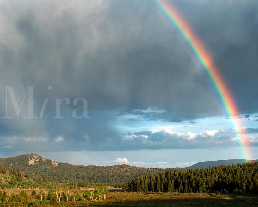 Rainbow, Grand Teton National Park, Wyoming