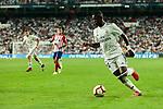 Real Madrid's Vinicius Jr. during La Liga match between Real Madrid and Atletico de Madrid at Santiago Bernabeu Stadium in Madrid, Spain. September 29, 2018. (ALTERPHOTOS/A. Perez Meca)