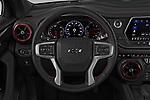 Car pictures of steering wheel view of a 2019 Chevrolet Blazer RS 5 Door SUV Steering Wheel