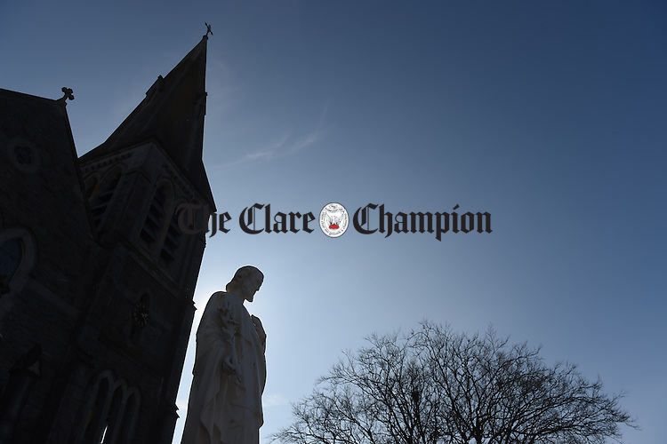 Gort Church. Photograph by John Kelly