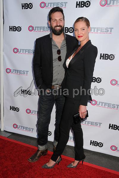 "10 July 2015 - West Hollywood, California - Josh Kelley, Katherine Heigl. ""Jenny's Wedding"" World Premiere - 2015 Outfest LA Film Festival held at the DGA Theatre. Photo Credit: Byron Purvis/AdMedia"