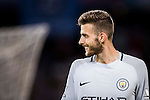 Manchester City goalkeeper Angus Gunn reacts during the 2016 International Champions Cup China match at the Shenzhen Stadium on 28 July 2016 in Shenzhen, China. Photo by Victor Fraile / Power Sport Images