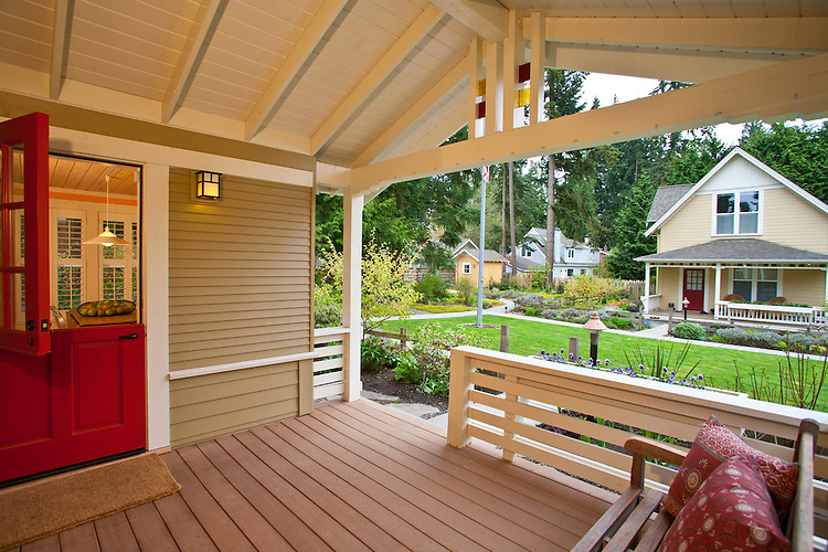 Danielson Grove, a new pocket community, Craftsman style cottages by the Cottage Company, Linda Pruitt, Developer, Ross Chapin Architect, Seattle area, Kirkland, Washington,