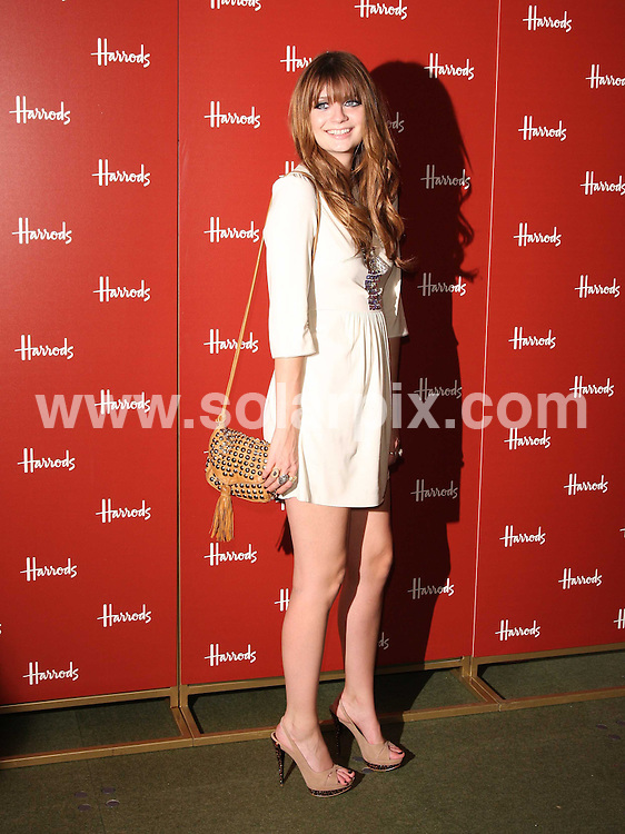 **ALL ROUND PICTURES FROM SOLARPIX.COM**.**WORLDWIDE SYNDICATION RIGHTS**.Mischa Barton, former OC star is joined by Harrods owner Mohamed Al Fayed, to launch the department store's annual summer sale at Harrods in Knightsbridge, London..This pic:Mischa Barton ..JOB REF: 9357       LNJ       DATE:28.06.09.**MUST CREDIT SOLARPIX.COM OR DOUBLE FEE WILL BE CHARGED**.**ONLINE USAGE FEE  GBP 50.00 PER PICTURE - NOTIFICATION OF USAGE TO PHOTO @ SOLARPIX.COM**.**CALL SOLARPIX : +34 952 811 768 or LOW RATE FROM UK 0844 617 7637**