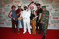 HOLLYWOOD, CA - NOVEMBER 26: The Village People, at 86th Annual Hollywood Christmas Parade at Hollywood Blvd in Hollywood, California on November 26, 2017. Credit: Faye Sadou/MediaPunch /NortePhoto NORTEPHOTOMEXICO
