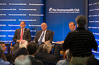 San Francisco, California - Wednesday, May 21, 2014: San Francisco Bowl Game Association, Pac-12 and Big Ten press conference and question and answer session.