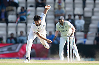 Ishant Sharma, India follows through during India vs New Zealand, ICC World Test Championship Final Cricket at The Hampshire Bowl on 23rd June 2021