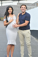 Cara de la Hoyde & Nathan Massey<br /> arriving for filming for Towie la sala Chigwell<br /> <br /> <br /> ©Richard Open snappers