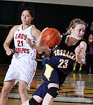 2014 SD State A Girls Basketball Pine Ridge vs Sioux Valley