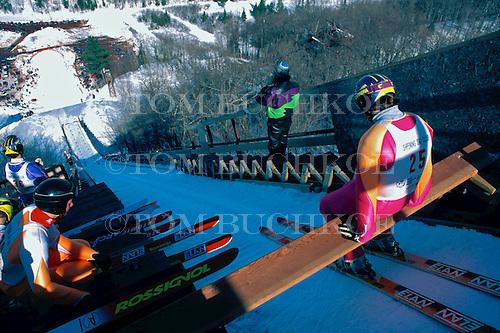 Suicide Hill Ski Jump, Ishpeming Michigan.